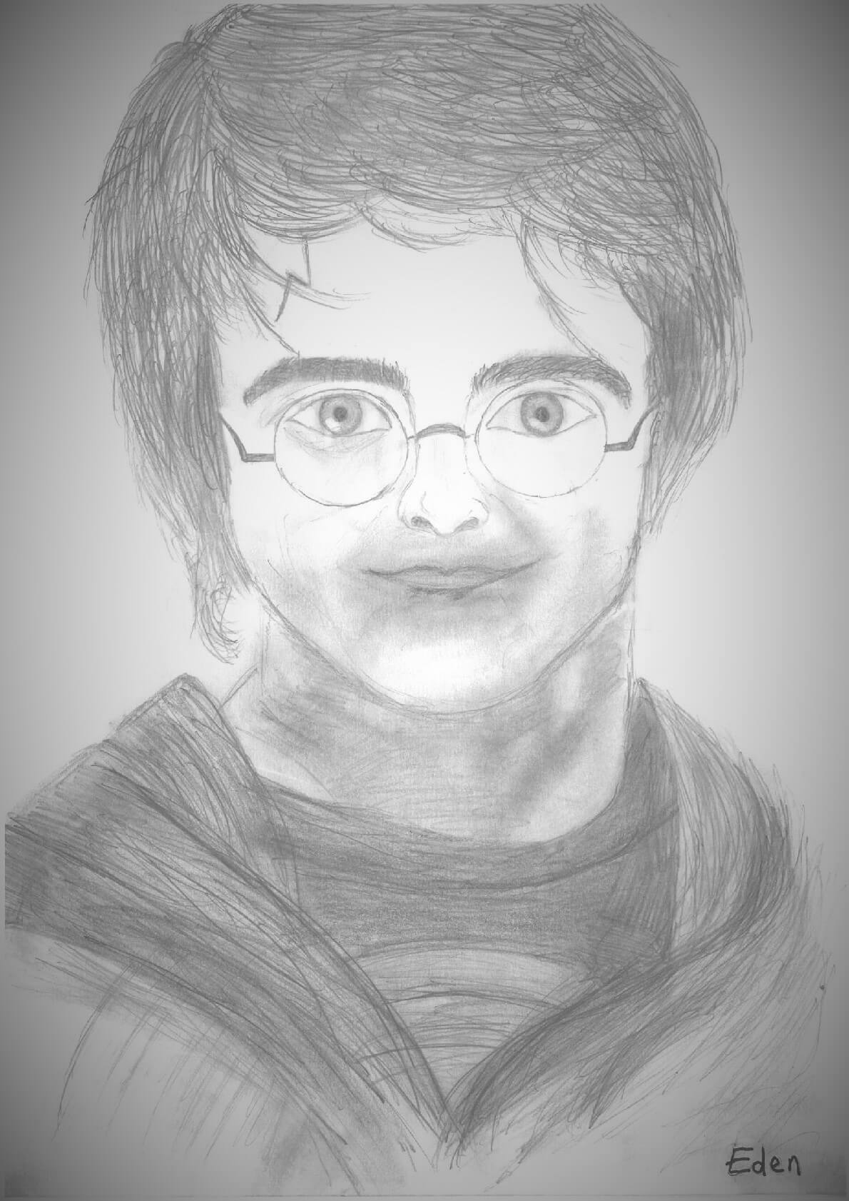 Dessin d'Harry Potter